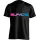 Supacaz Fader T-Shirt Unisex neon pink/neon blau